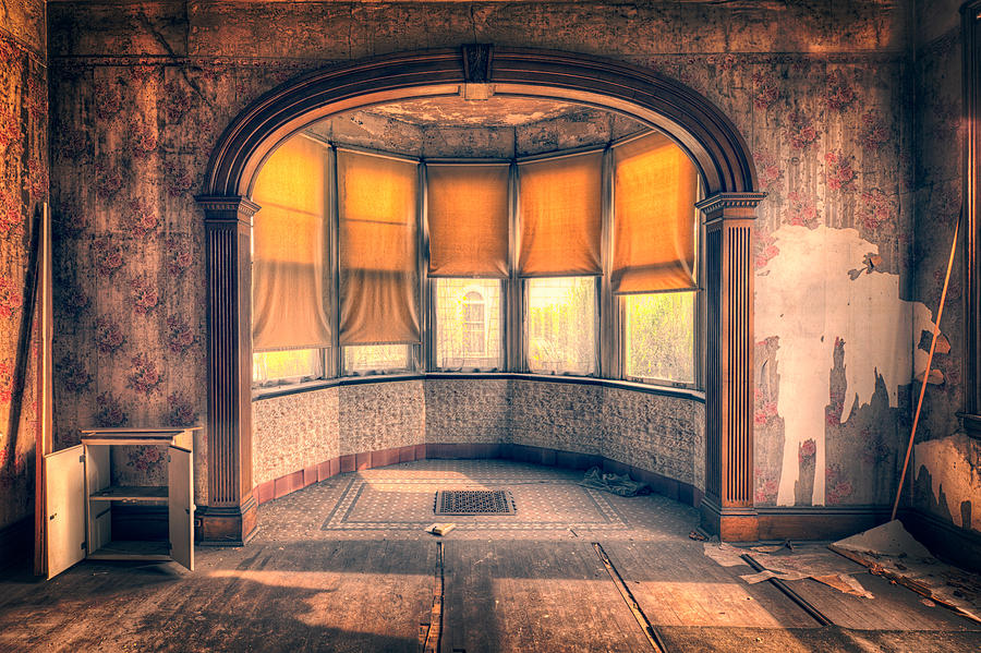 Old Dining Room Photograph By Emmanuel Panagiotakis