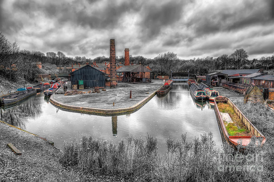 Architecture Photograph - Old Dock by Adrian Evans