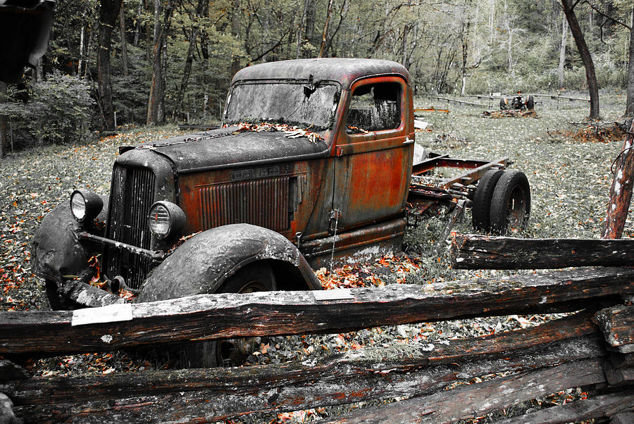 Old Dodge Truck Photograph by Bill Hosford