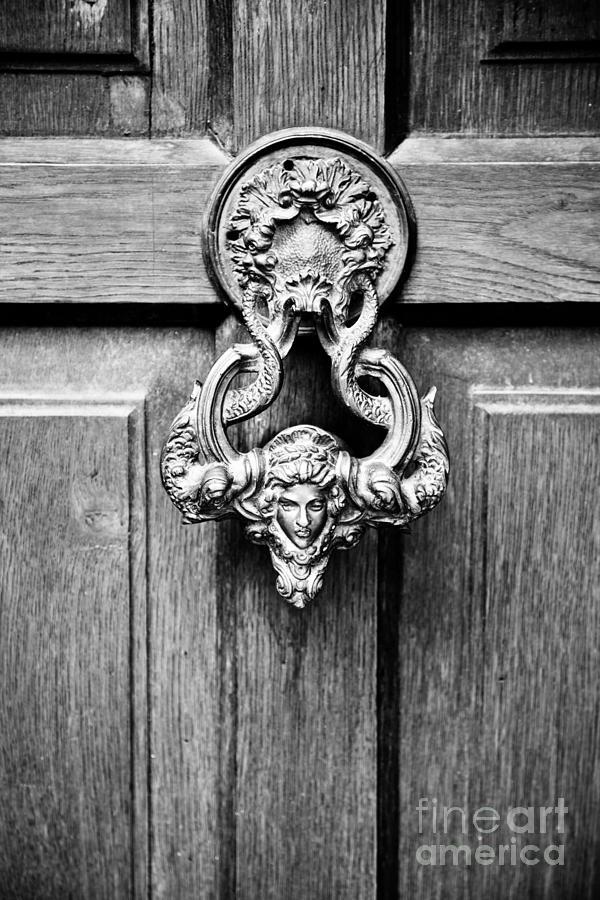 Old Door Handle Photograph by Gabriela Insuratelu