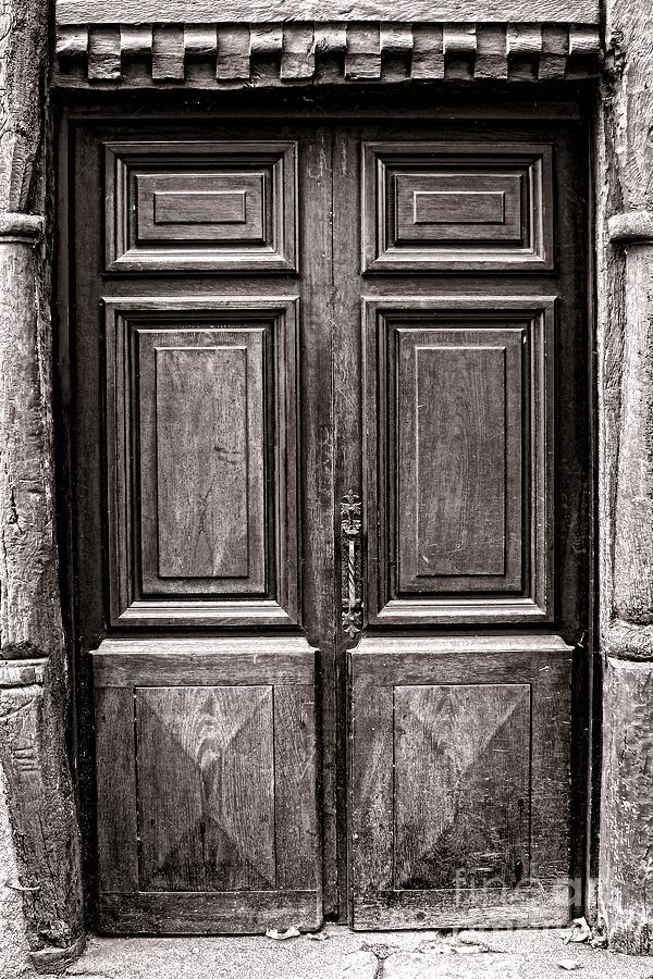 Door Photograph - Old Door by Olivier Le Queinec