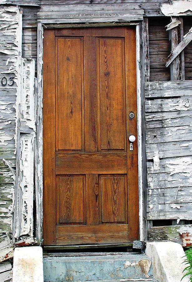 Door Photograph - Old Door by Sarah-jane Laubscher