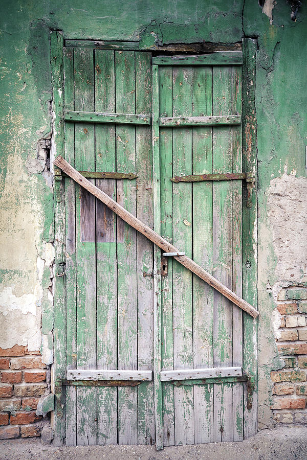 Old Door Photograph by Wylius