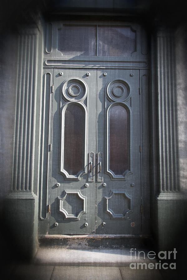 2013 Photograph - Old Doorway Quebec City by Edward Fielding