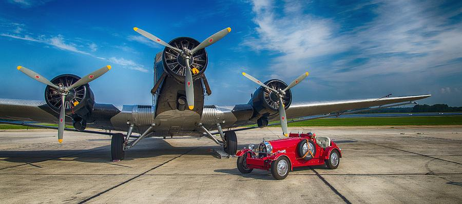 Junkers 52 Photograph - Old Double by Thomas Christoph