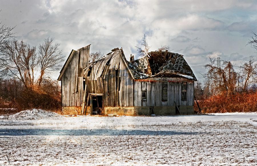 Barn Photograph - Old Dreams by Cheryl Cencich
