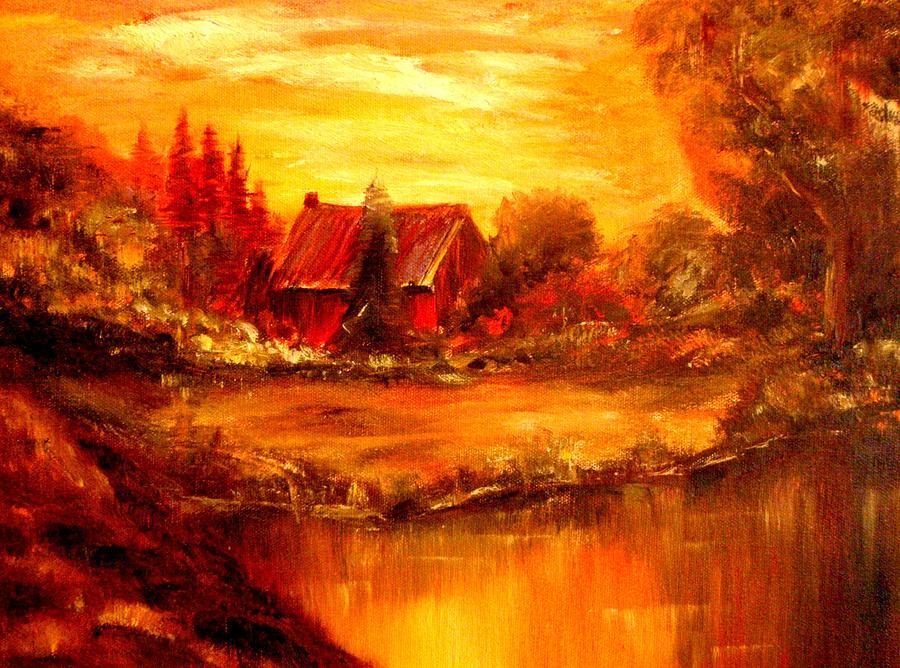 Barn Painting - Old Dutch Farm by Jeff Troeltzsch