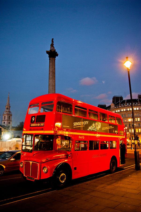 London Photograph - Old Faithful by Gabor Fichtacher