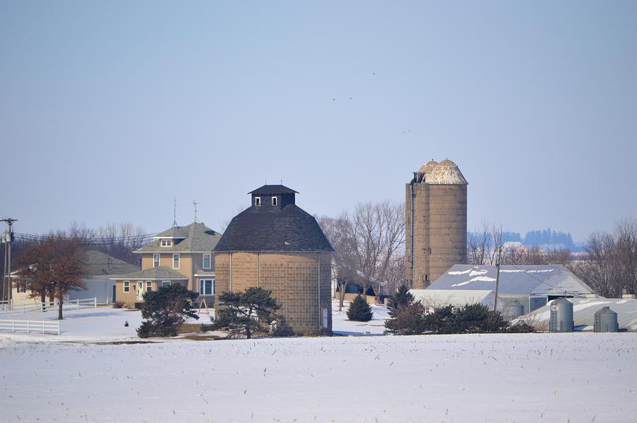 Barn Photograph - Old Farm by Bonfire Photography