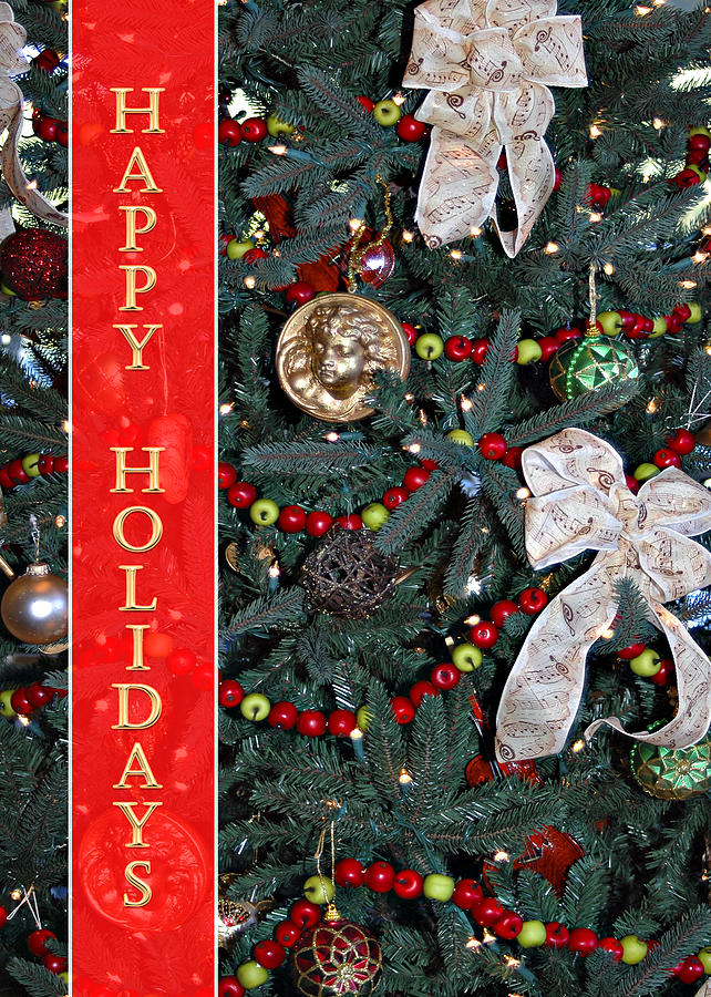 Christmas Tree Photograph - Old Fashioned Christmas by Carolyn Marshall