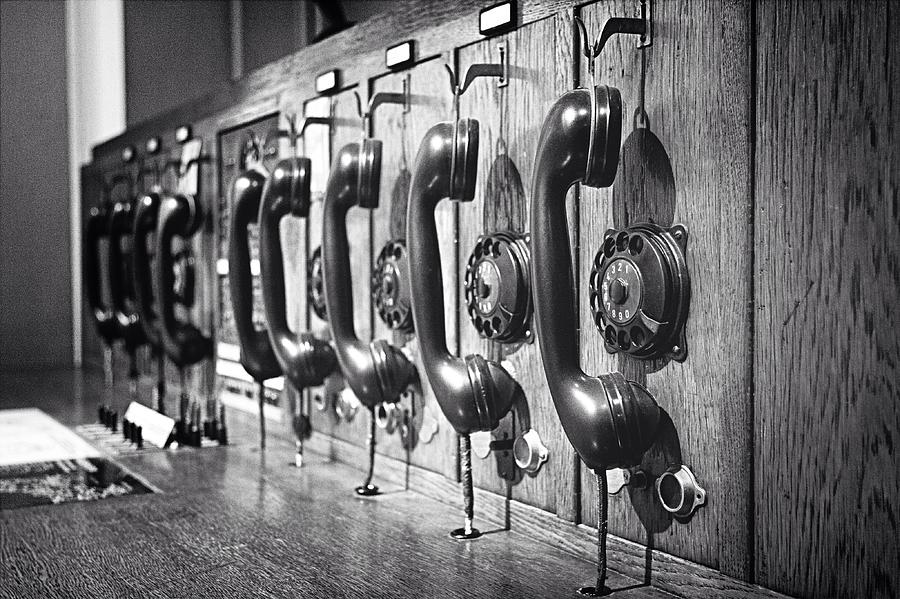 Old-fashioned Wooden Telephone Photograph by Anja Heid / Eyeem