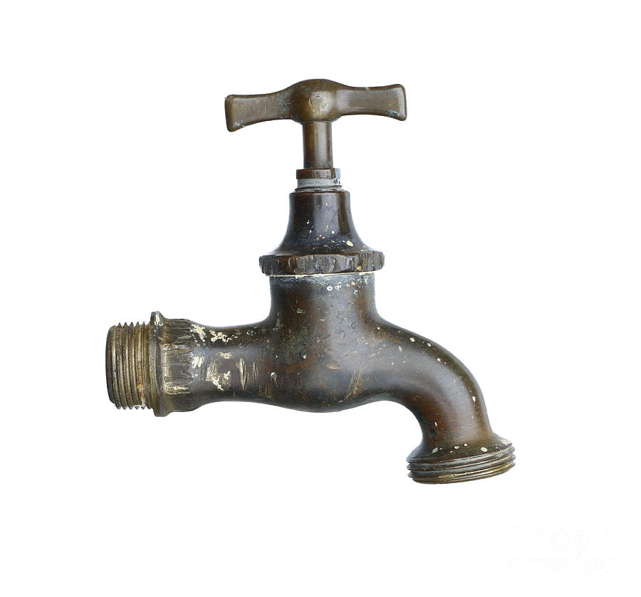 Old Faucet Photograph By Michal Boubin