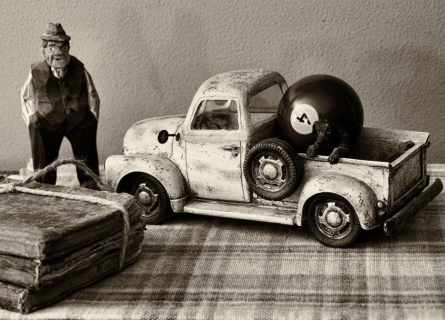 Still Life Photograph - Old Friends by Tom Druin