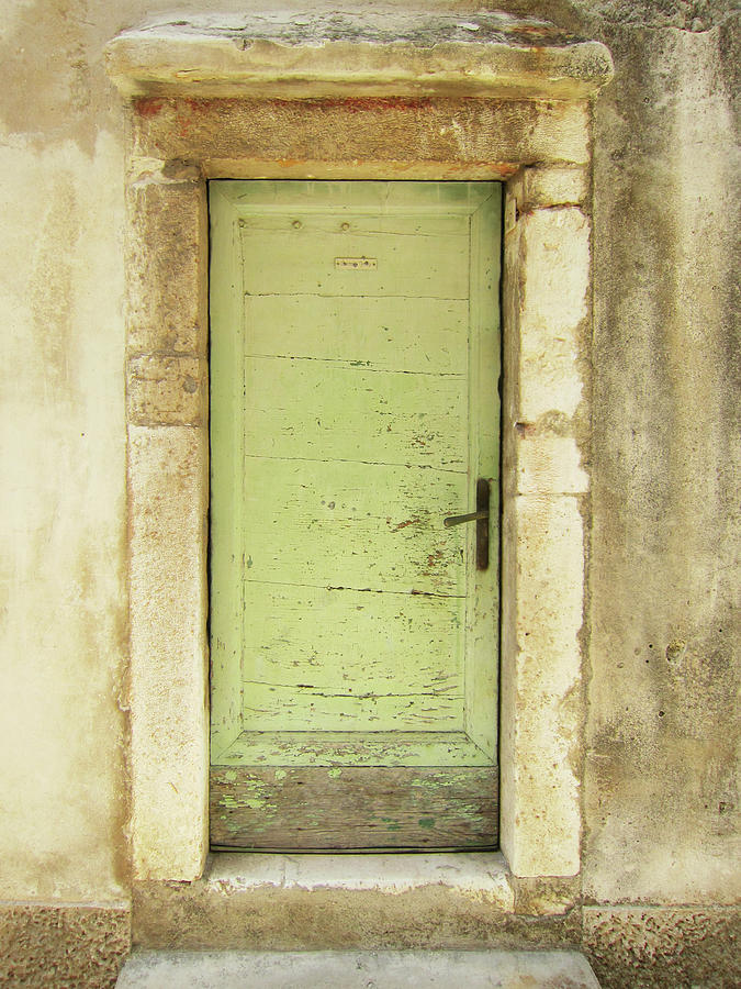 Old Front Door Photograph by 1stgallery