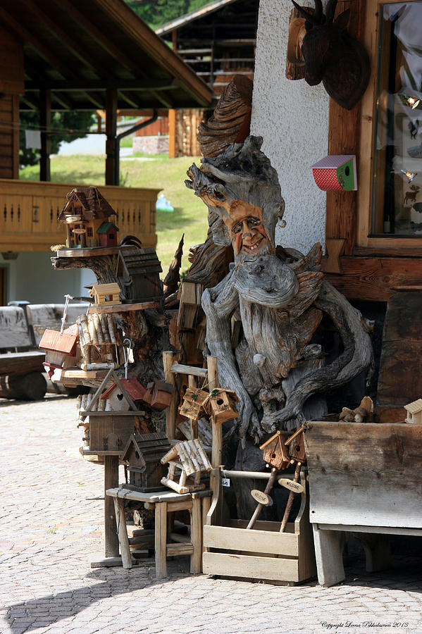Wooden Man Photograph - Old Geezer by Leena Pekkalainen