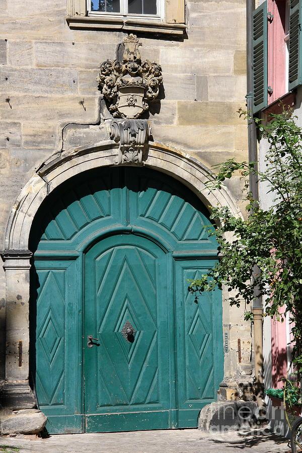Door Photograph - Old German Door  by Christiane Schulze Art And Photography
