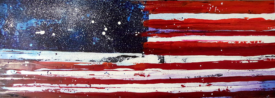 Old Glory Beneath The Stars by Charles Jos Biviano