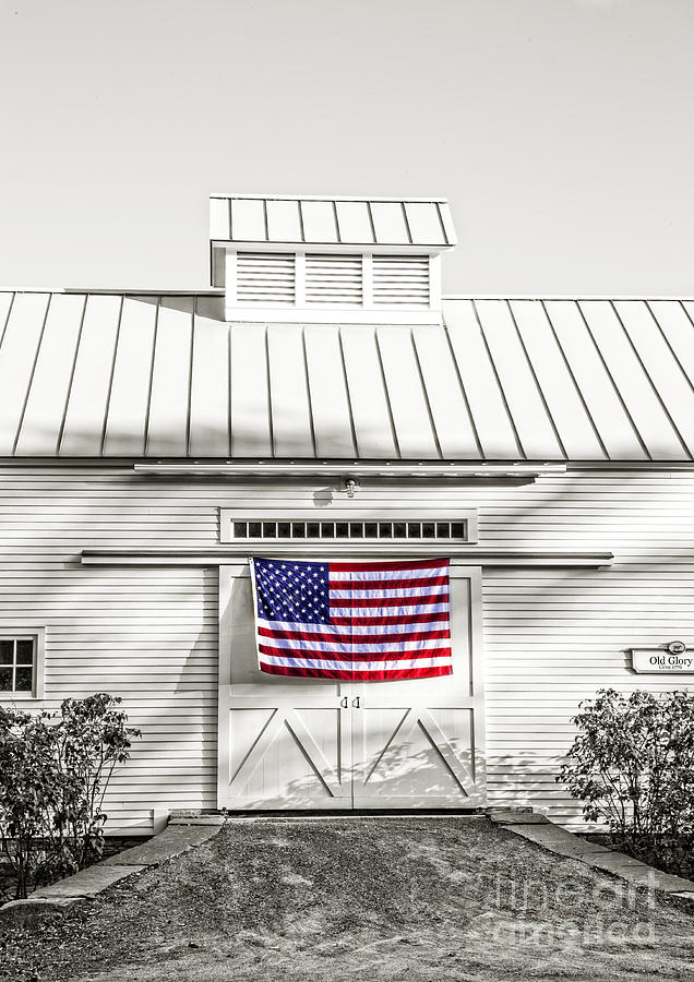 Vermont Photograph - Old Glory Circa 1776 by Edward Fielding