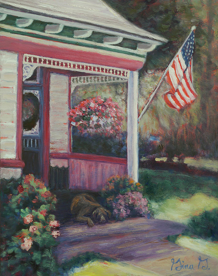 Old Glory by Gina Grundemann