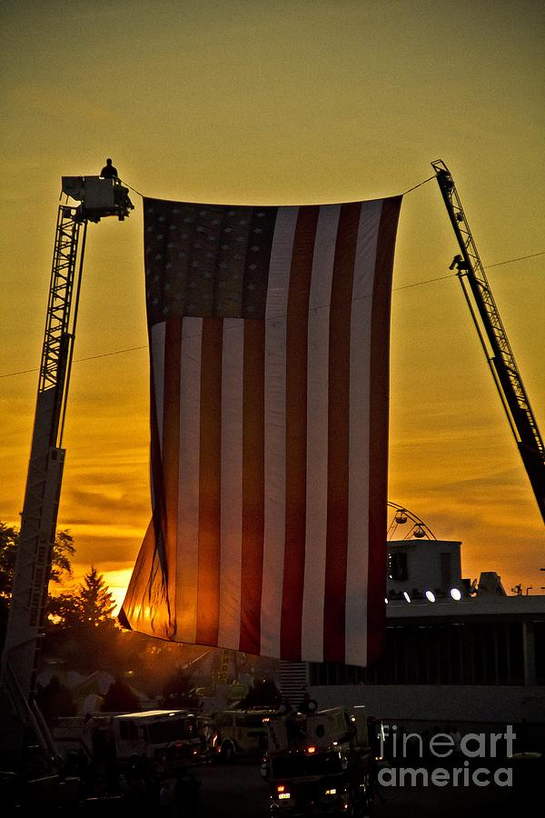 American Flag Photograph - Old Glory by Jim Lepard