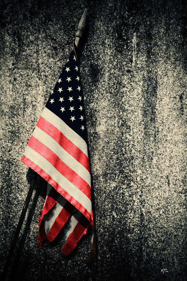 Flag Photograph - Old Glory by Karol Livote