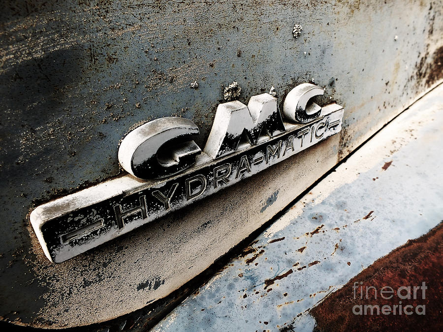 Gmc Digital Art - Old Gmc by Kimberly Maiden