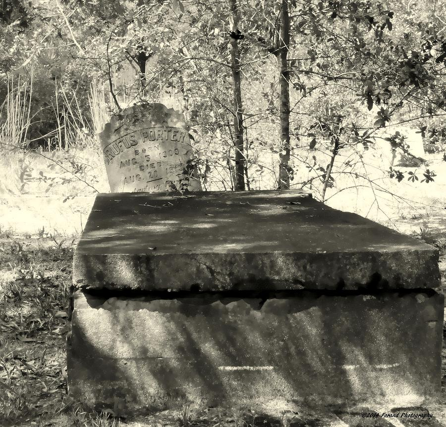 Cemetery Photograph - Old Grave by Debra Forand