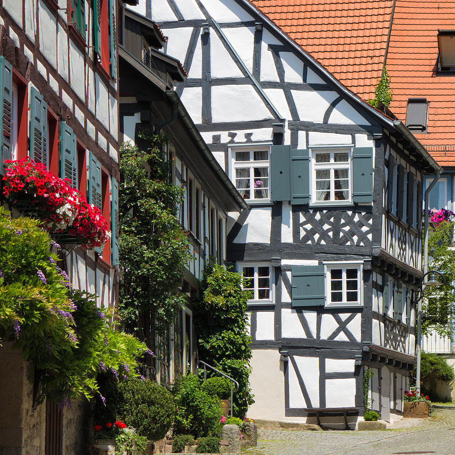 Old half timbered houses in sindelfingen germany for Big houses in germany
