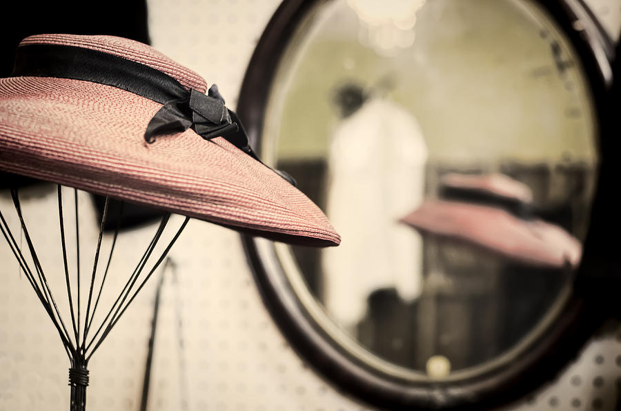 Hat Photograph - Old Hat by Heather Applegate