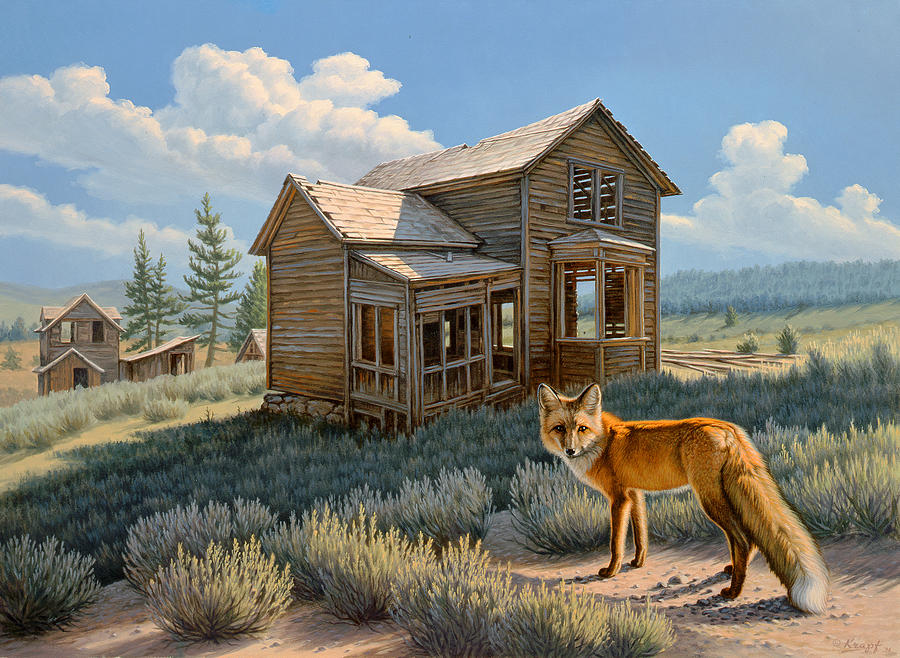 Wildlife Painting - Old Haunts  by Paul Krapf