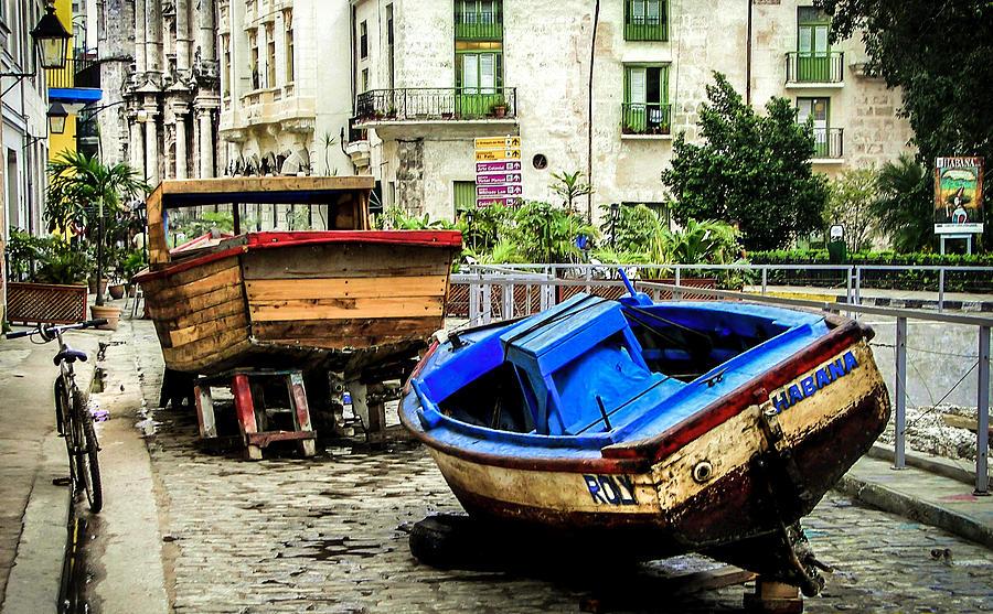 Cuba Photograph - Old Havana by Karen Wiles