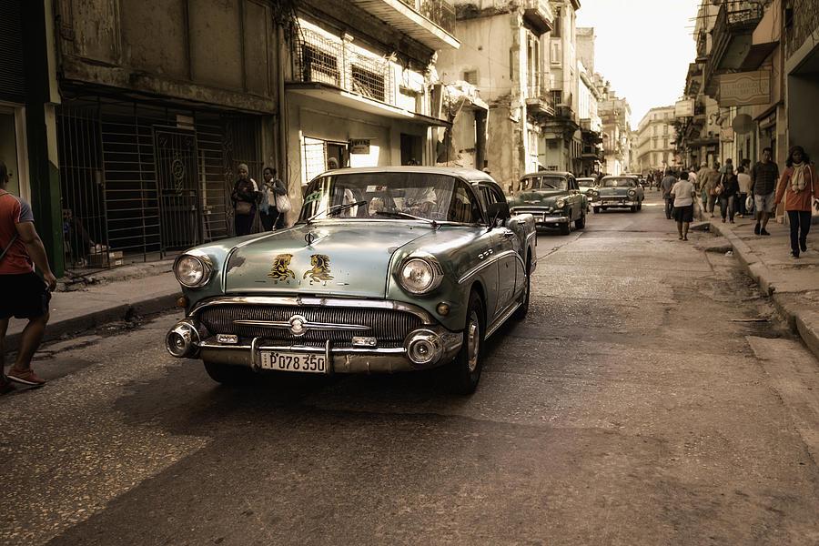 Cuba Photograph - Old  Havana  Street by Alper Uke