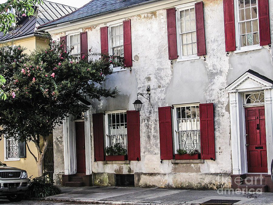 Old House In Charleston South Carolina Photograph