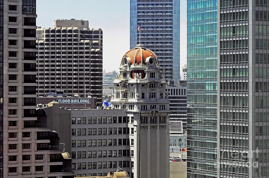 San Francisco Photograph - Old Humboldt Bank Building In San Francisco by Susan Wiedmann