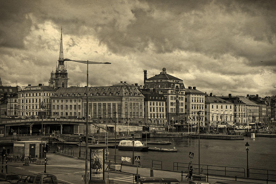 Old In Memory But Modern Copenhagen Photograph