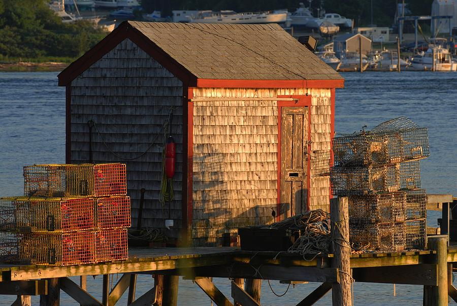 Old Lobster Shack by Pamela Hodgdon