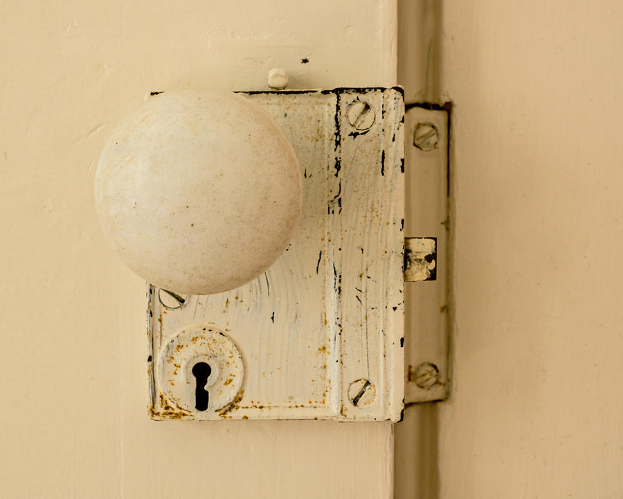 Old Photograph - Old Lock by Photographic Arts And Design Studio