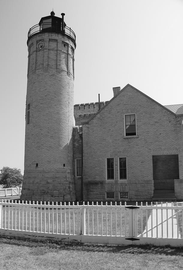 Old Mackinac Point Light Photograph