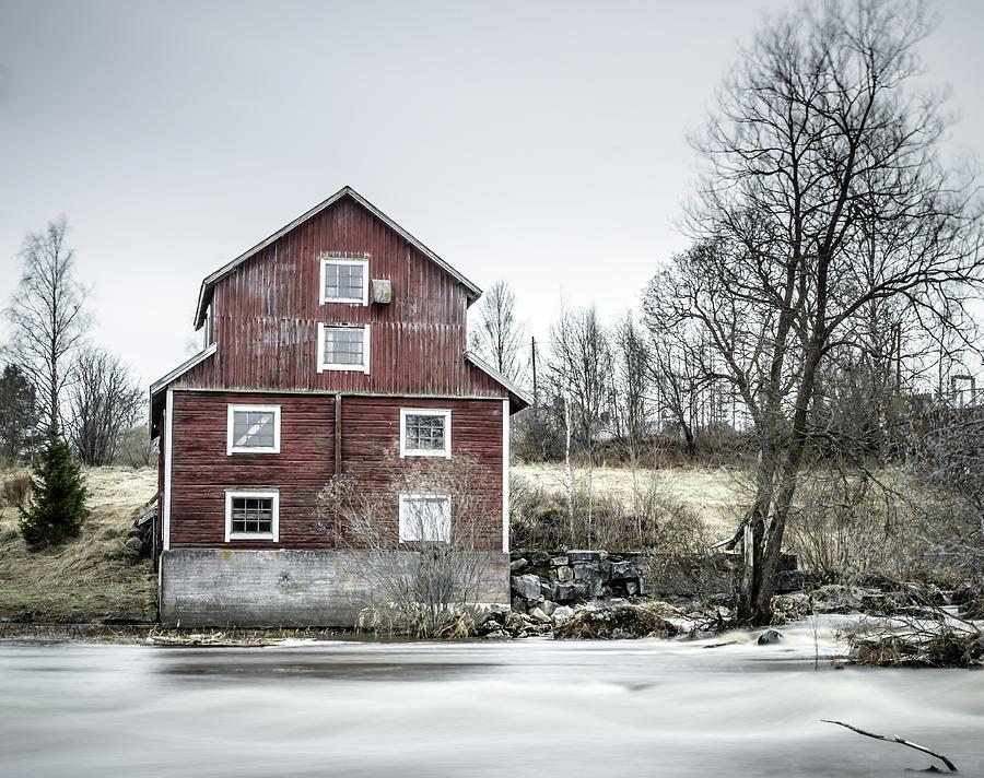 Old Mill 2 Photograph - Old Mill 2 by Matti Ollikainen