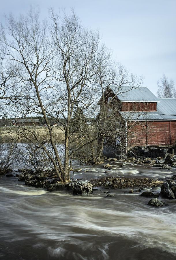 Matti Ollikainen Photograph - Old Mill 3 by Matti Ollikainen