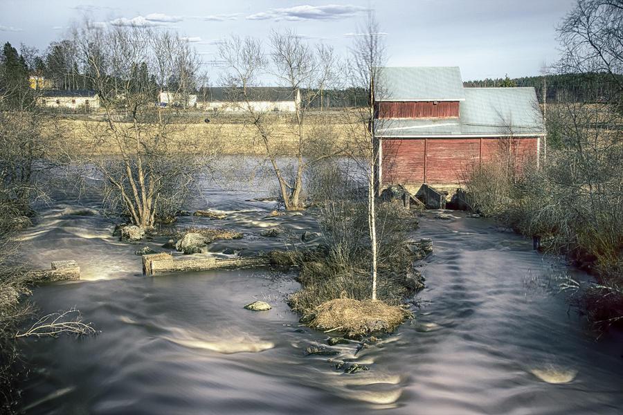 Matti Ollikainen Photograph - Old Mill 4 by Matti Ollikainen