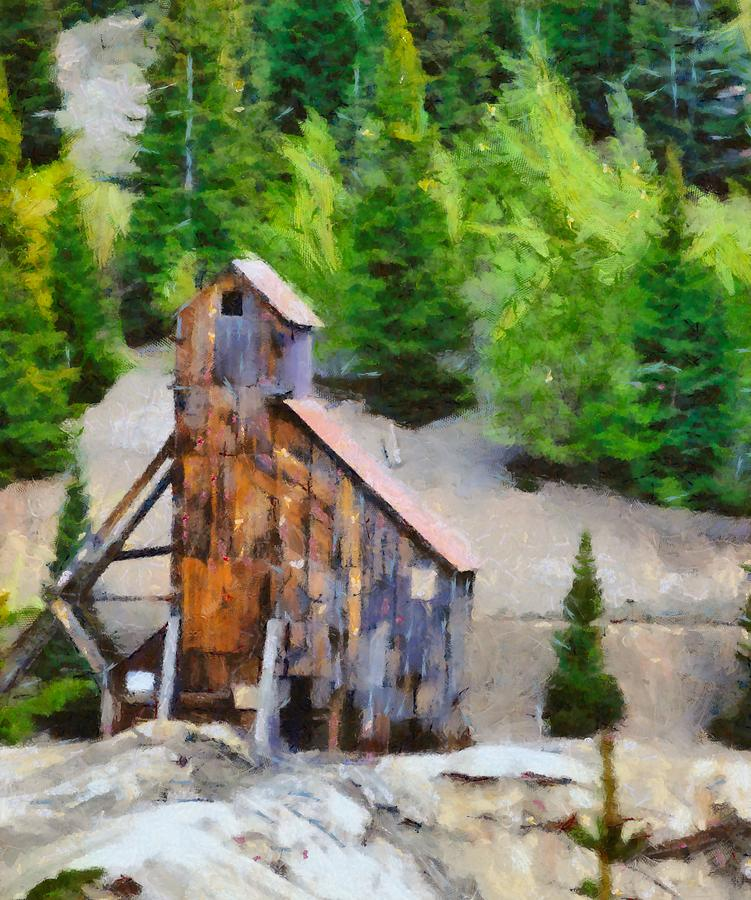 Yankee Girl Mine Painting By Dan Sproul