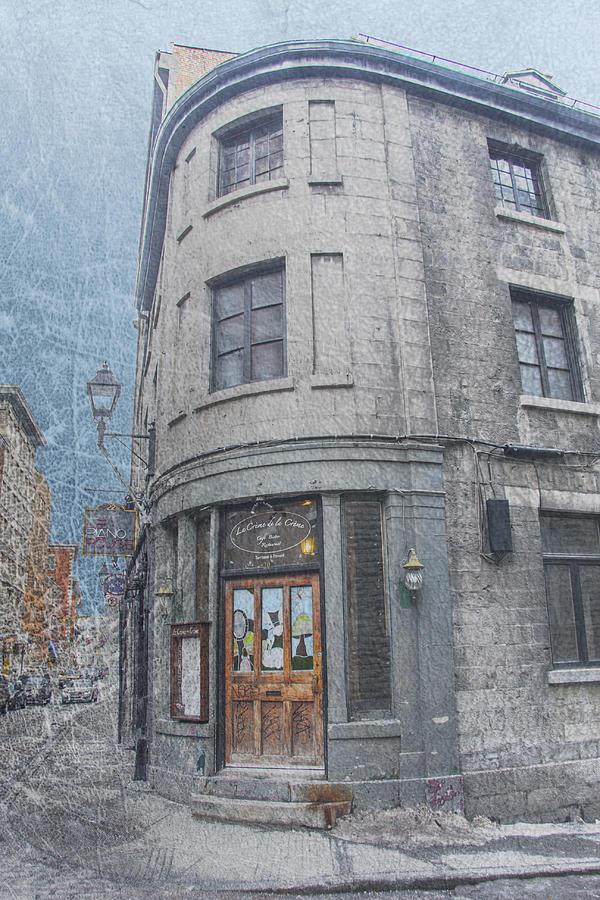 Old Montreal Building Photograph