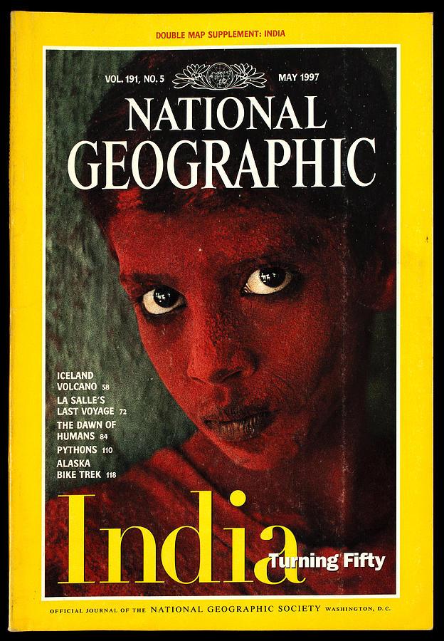 old national geographic magazine 2 photograph by samir hanusa