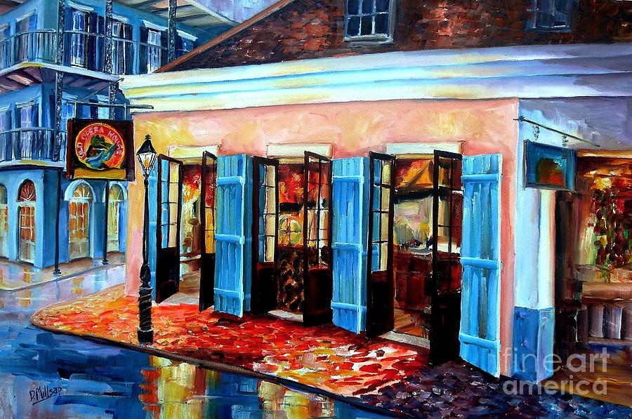 New Orleans Painting - Old Opera House-new Orleans by Diane Millsap