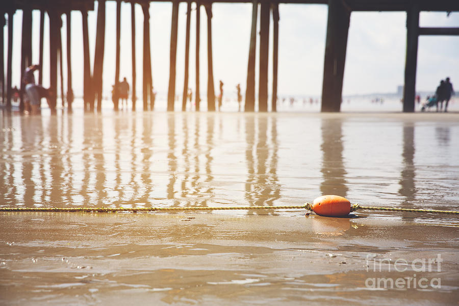 Beach Photograph - Old Orchard Beach by Jane Rix