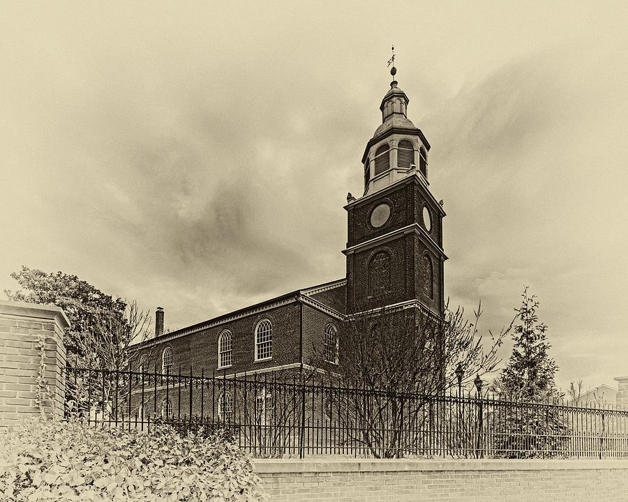 Old Otterbein Church Olde Tyme Photo Photograph