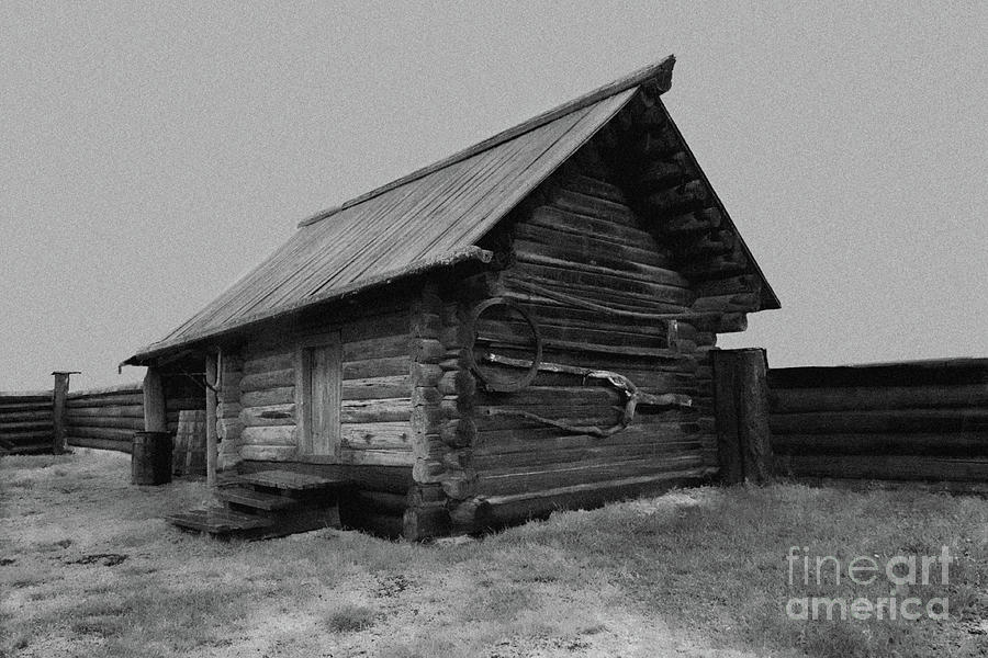 Peasant Photograph - Old Peasant House 2 by Evgeniy Lankin