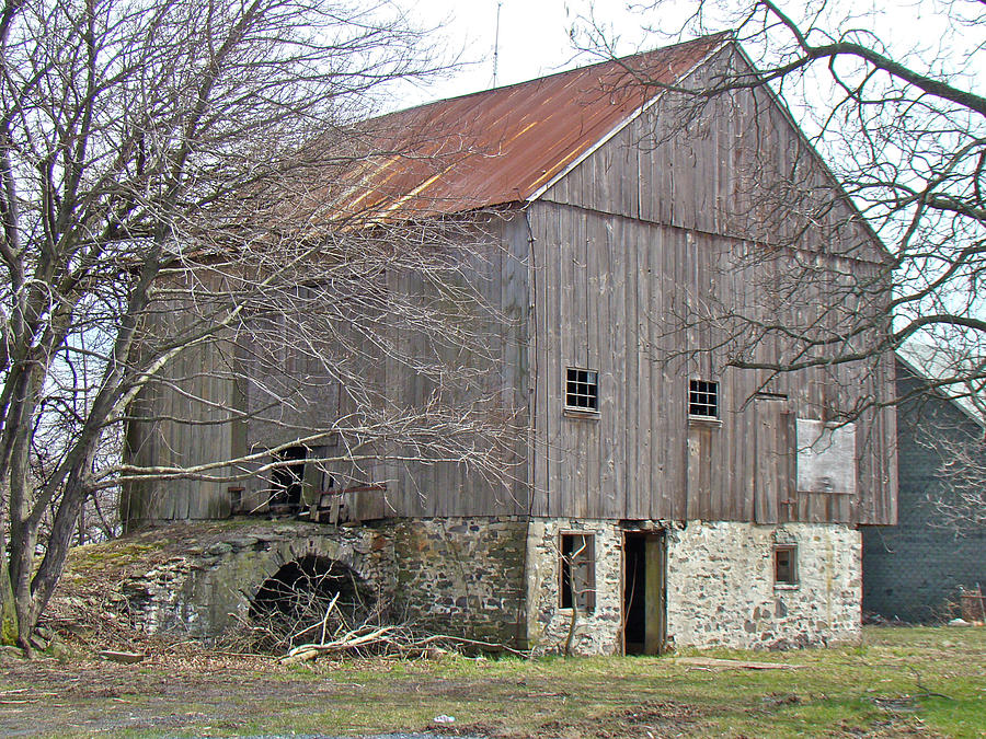 Old Pennsylvania Bank Barn Photograph By Mother Nature