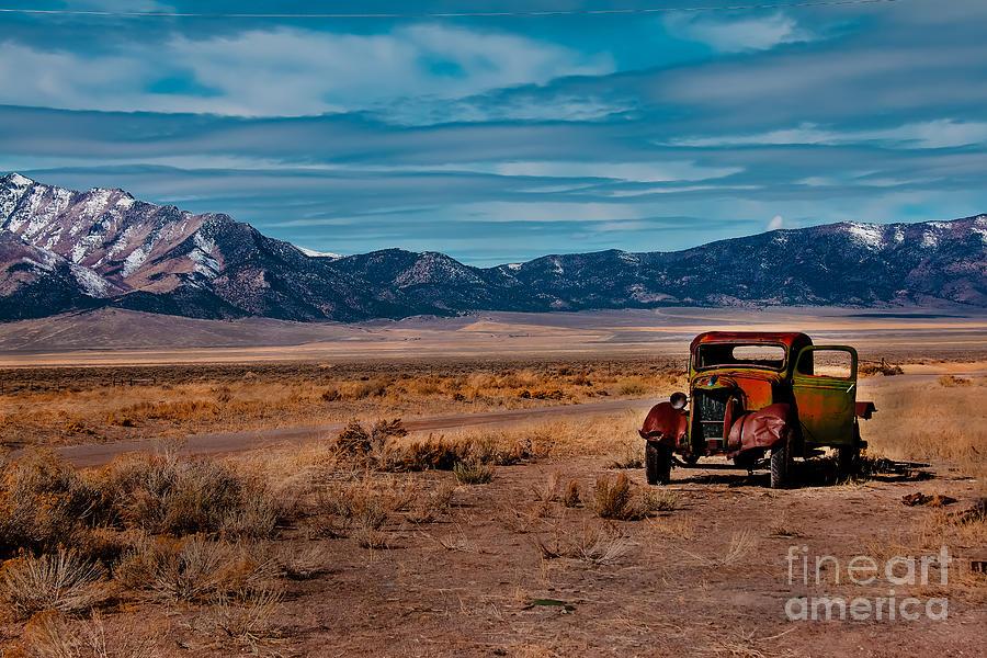 Transportation Photograph - Old Pickup by Robert Bales